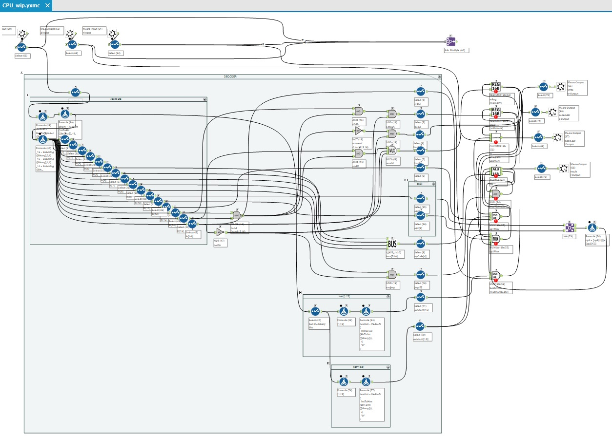 Computing Digital Logic And Building Circuits In A Alteryx Diagram Half Adder Community