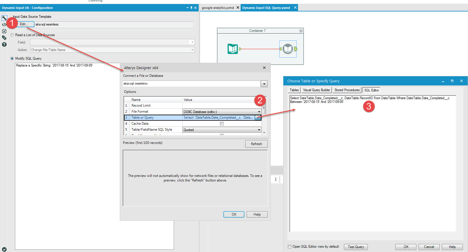 Solved: Interative Dynamic SQL Where Statement - Alteryx