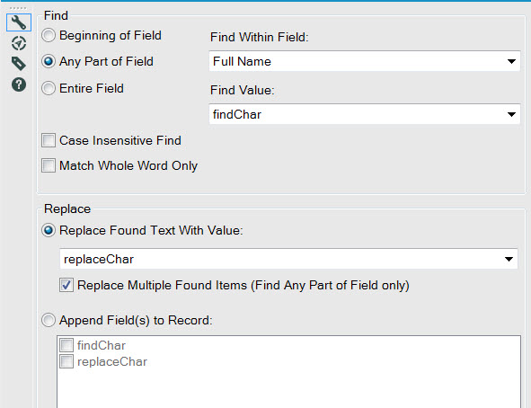 Find Replace | Remove Special Characters - Alteryx Community