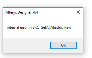 Solved: Problems connecting to SQL - Alteryx Community
