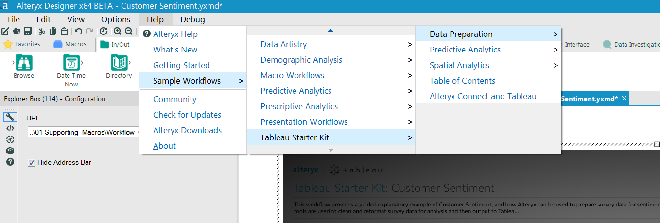 Updated Alteryx Starter Kit for Tableau! - Alteryx Community
