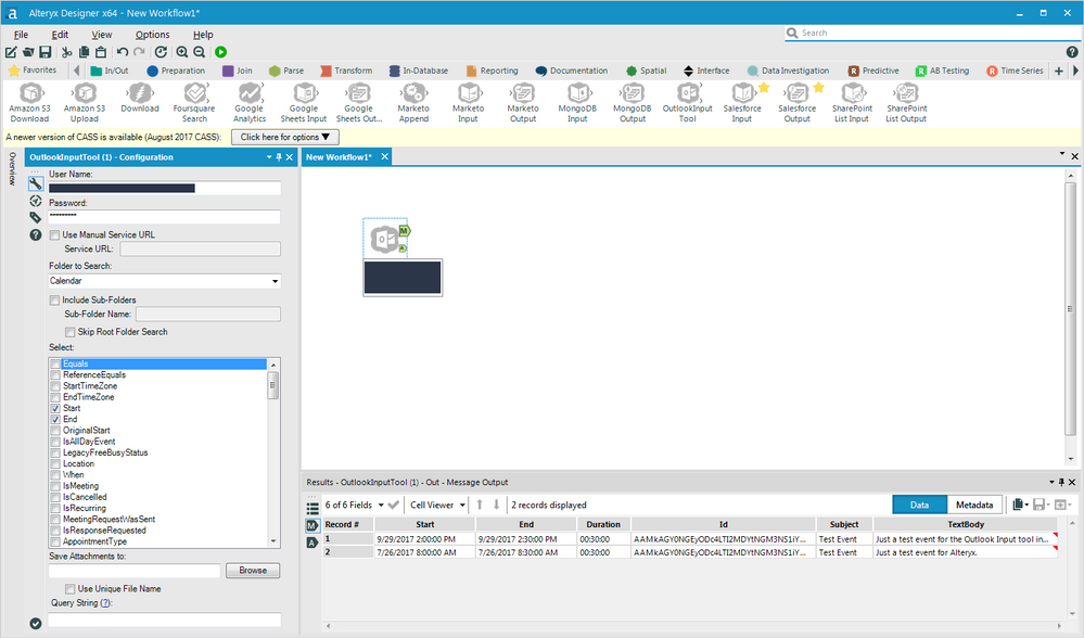 Outlook Input tool Created with the Alteryx SDK - Alteryx Community