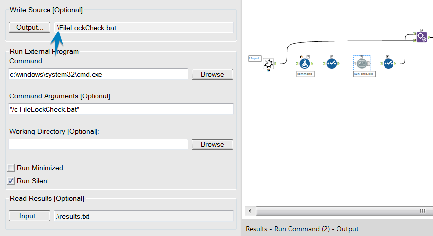 Solved: Run Command Working Directory Issues - Alteryx Community