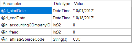 Solved: How To? Pass Dynamic Parameters/Fields to a Stored