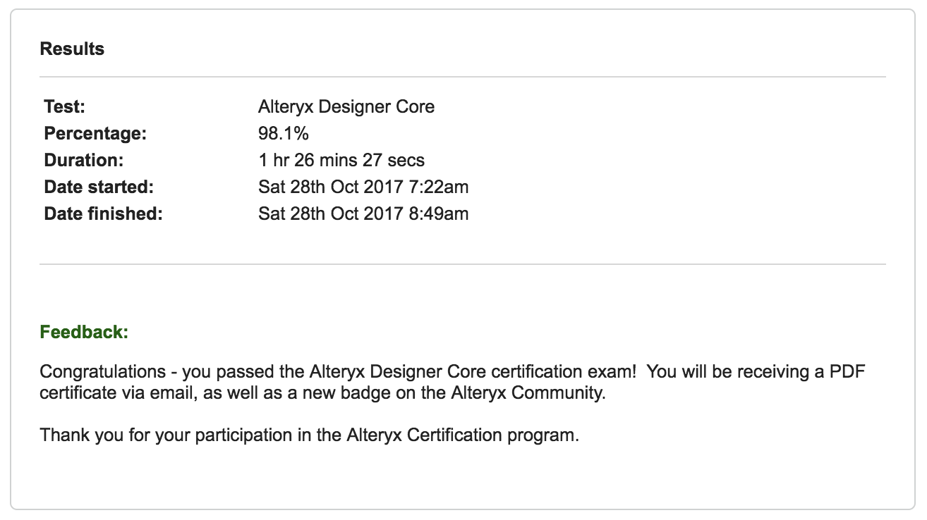 Announcing the alteryx product certification progr alteryx announcing the alteryx product certification progr alteryx community 1betcityfo Gallery