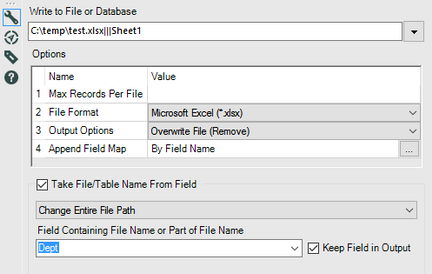 Solved: Output to multiple xlsx files - Alteryx Community