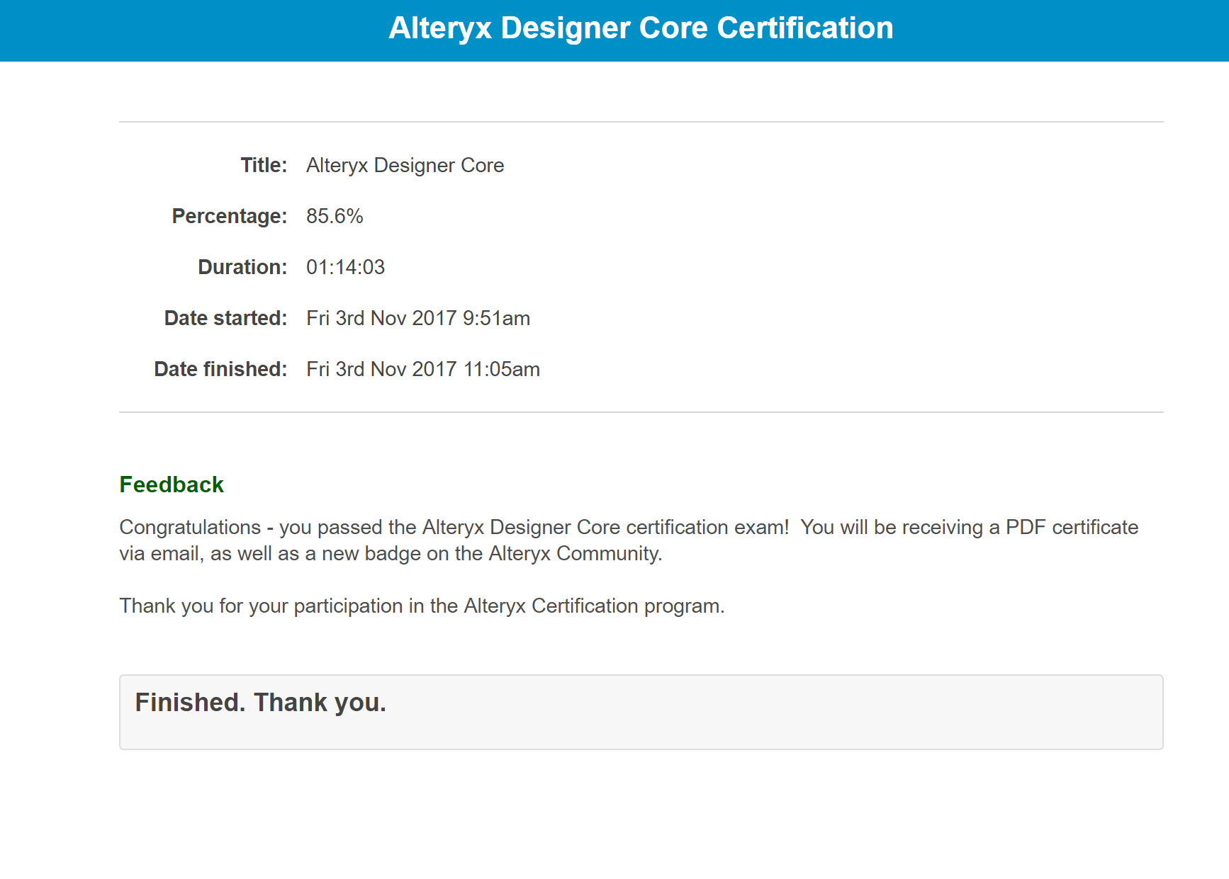 Announcing The Alteryx Product Certification Progr Alteryx