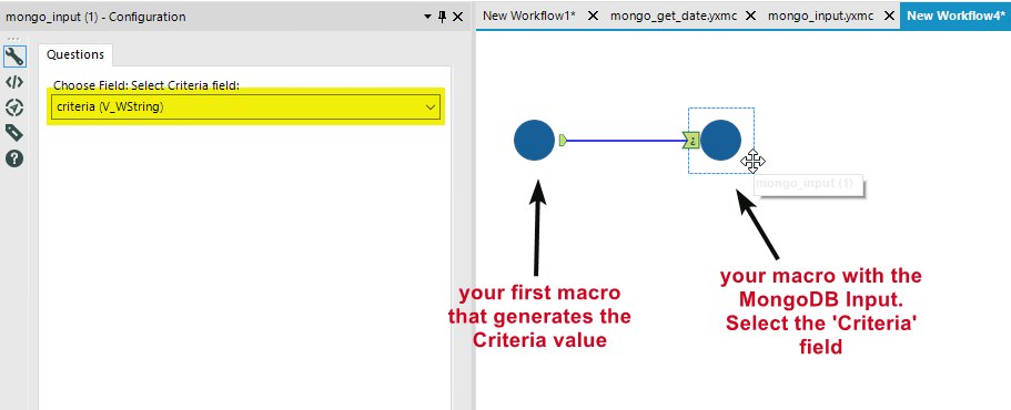 Solved: Date Filter in Mongo Input - Alteryx Community