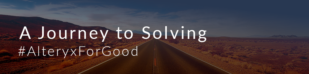 Alteryx is on the road to solving.