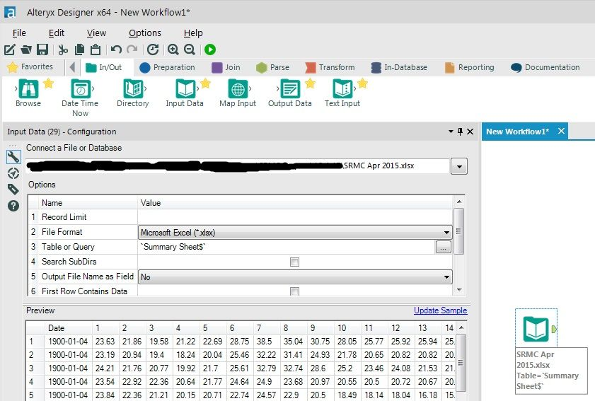 Solved: Importing an Excel field that is a 'date' in text