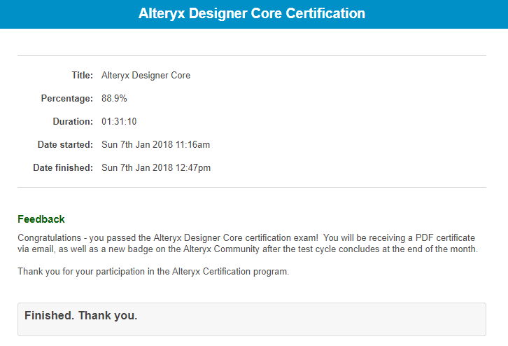 Announcing the Alteryx Product Certification Progr... - Page 2 ...