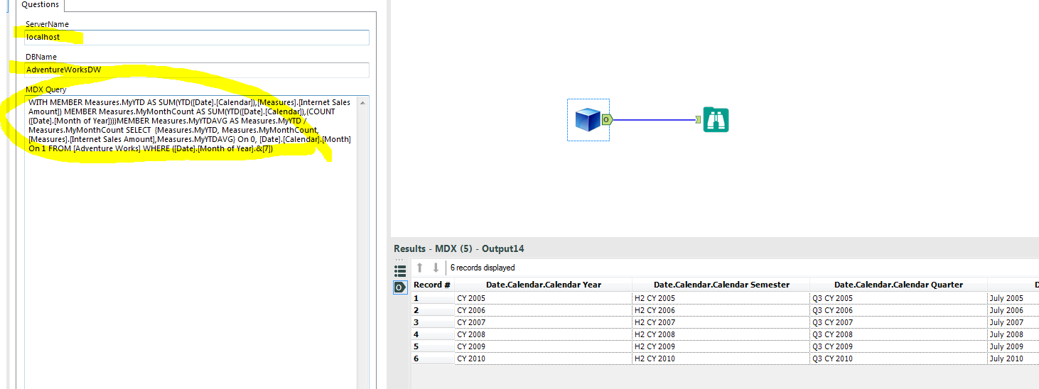 Solved: SSAS Cube Connection and MS Power Query - Alteryx Community