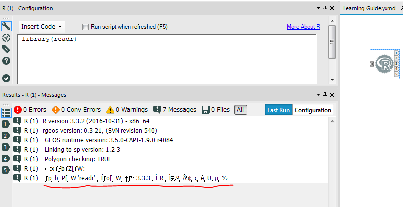Solved: Encoding Error in R tool - Alteryx Community