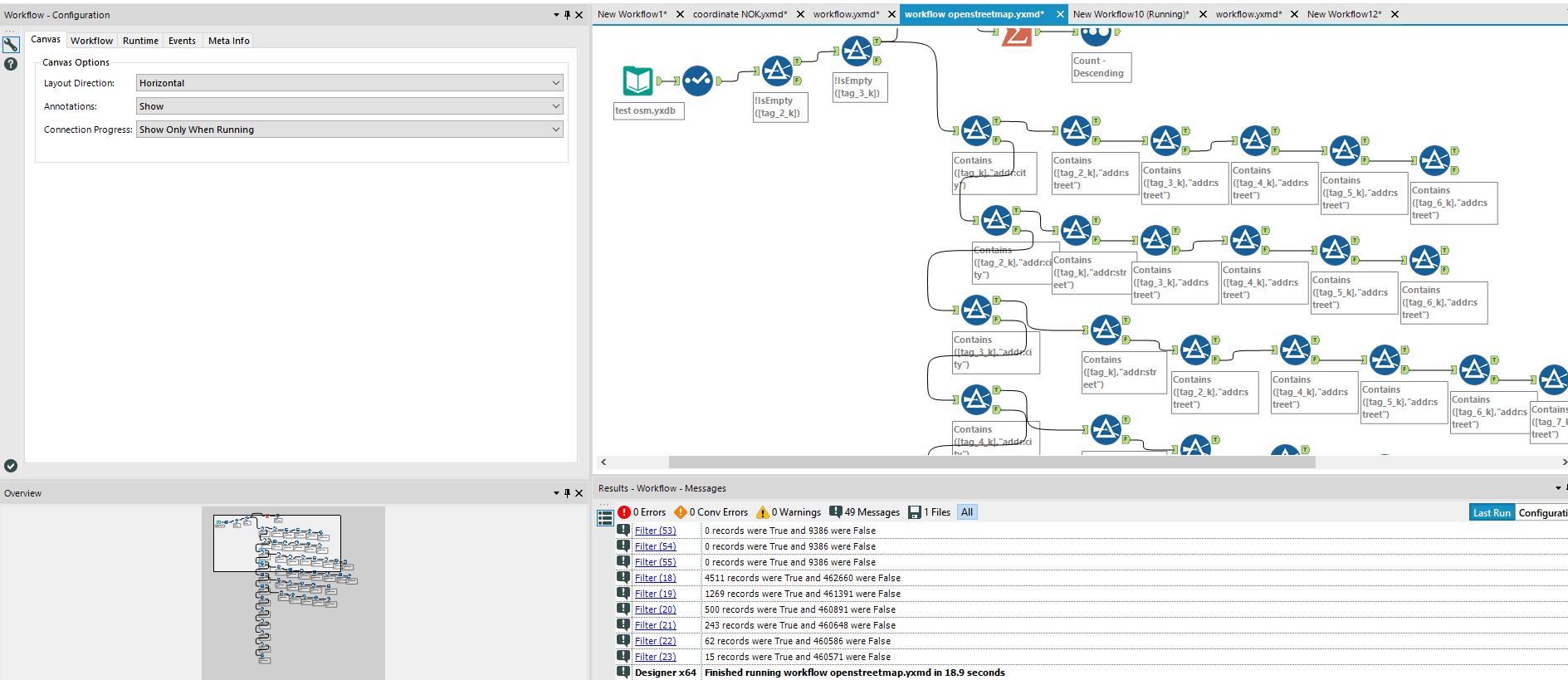 An attempt at building an offline OSM geocoder - Alteryx