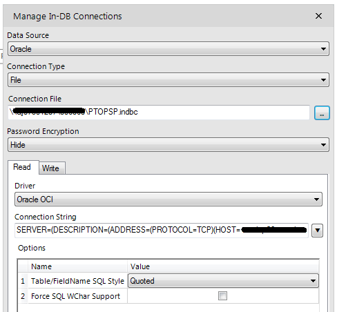 Oracle In-DB File Connection - Alteryx Community