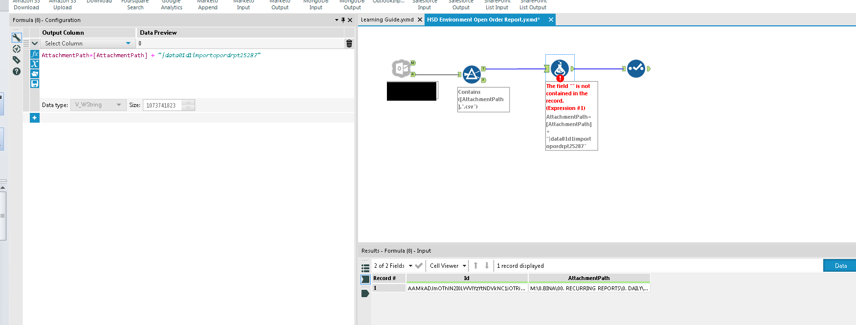 Outlook Input tool Created with the Alteryx SDK - Page 2