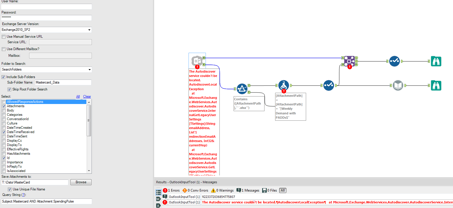 Outlook Input tool Created with the Alteryx SDK - Page 3 - Alteryx