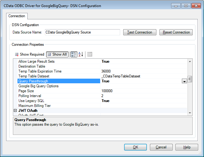 Enable complex queries for Google Big Query - Alteryx Community