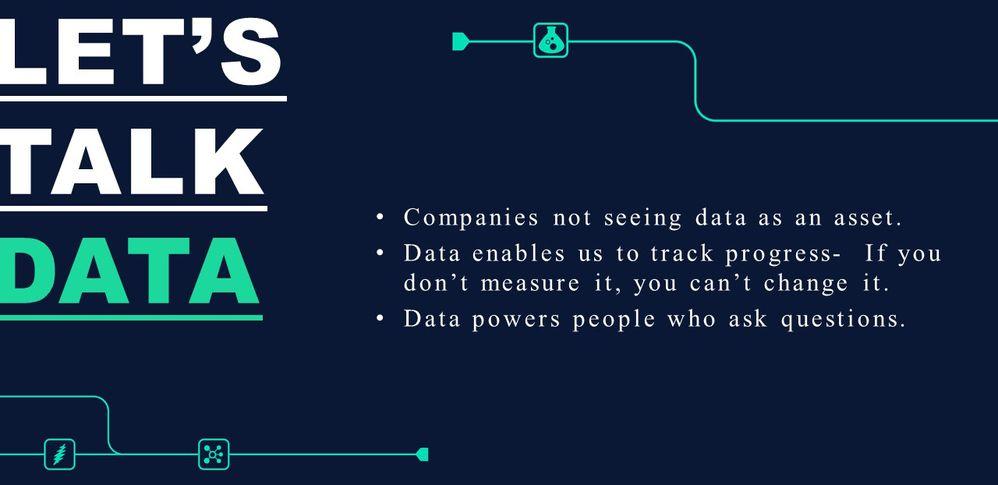 Let's Talk Data