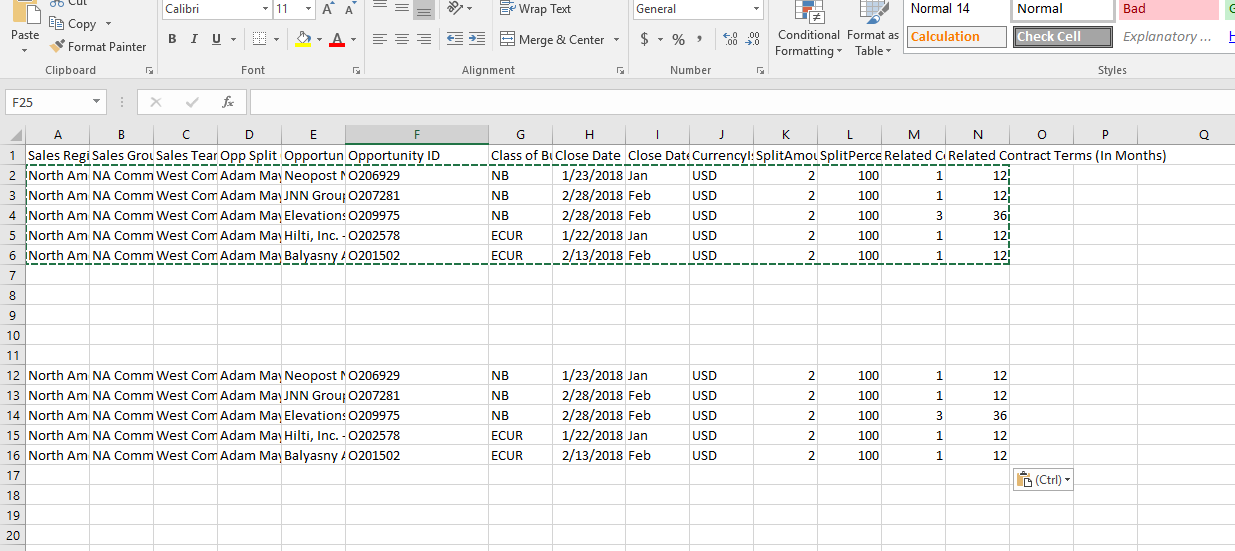 Solved: Updating Excel data regularly to existing data fil