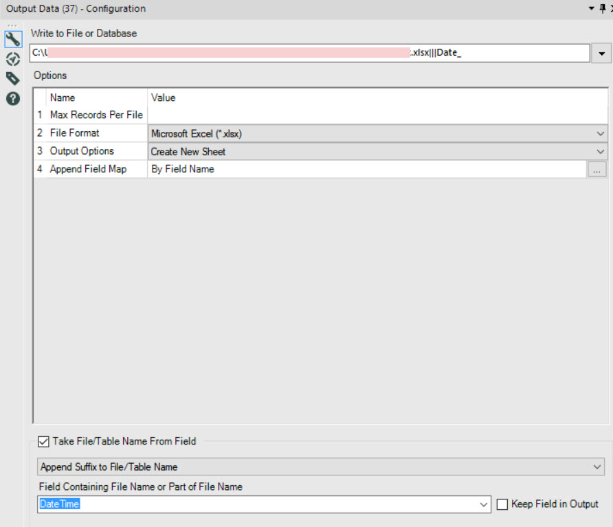 How to Guide' to dynamically renaming output files - Alteryx