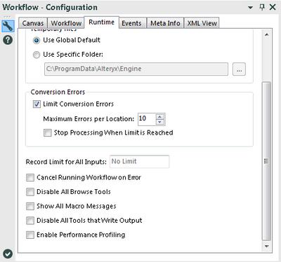 Workflow Run time - In progress log - Alteryx Community