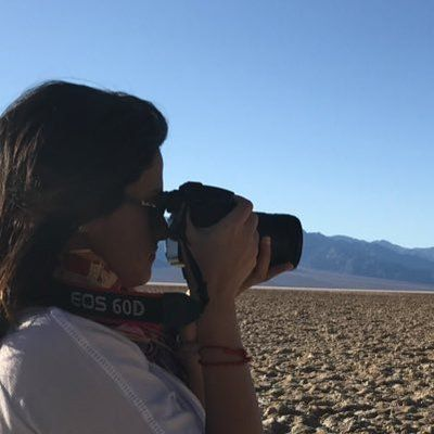 Me in action @ Death Valley National Park
