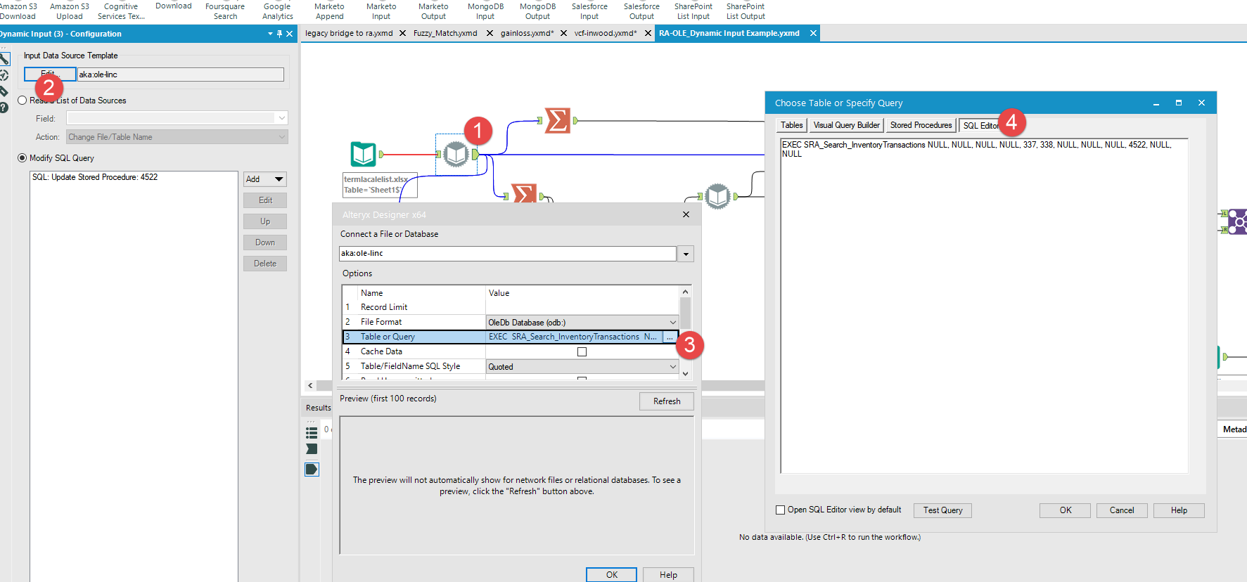 Input Multiple Excel Sheets Or Tabs At Once Alteryx Community