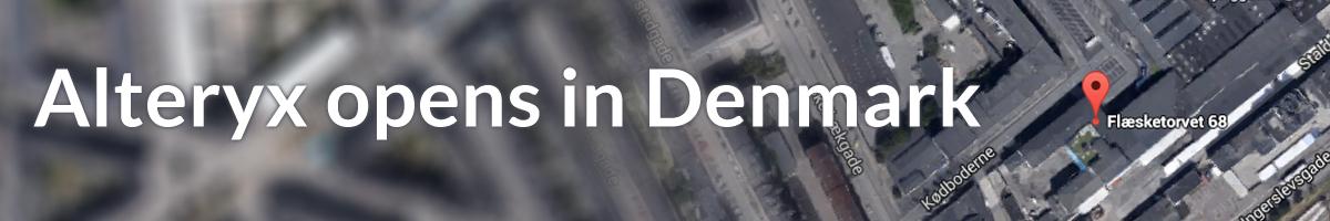 Alteryx opens in Denmark