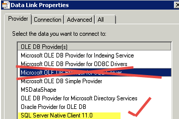 Saving Microsoft SQL Server credentials (user name and password