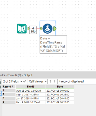 Solved: Date Conversions from CSV - Alteryx Community