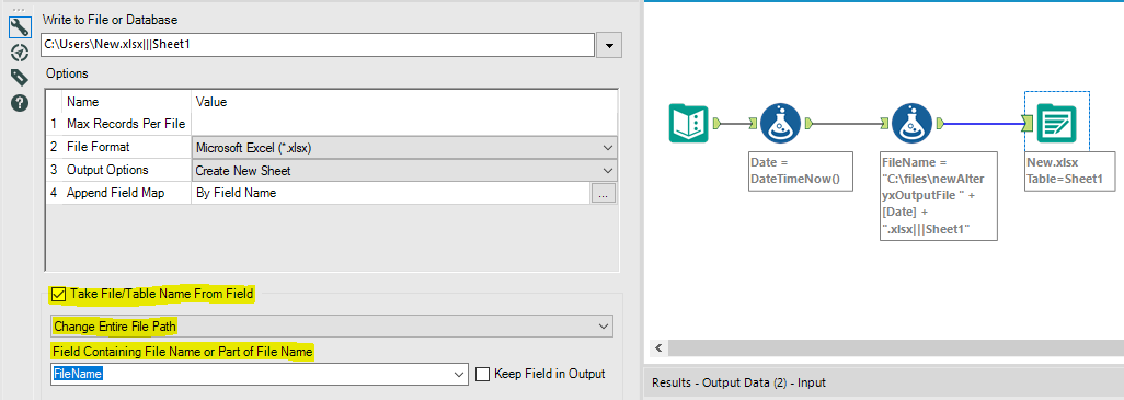 Adding date to my output date in excel - Alteryx Community