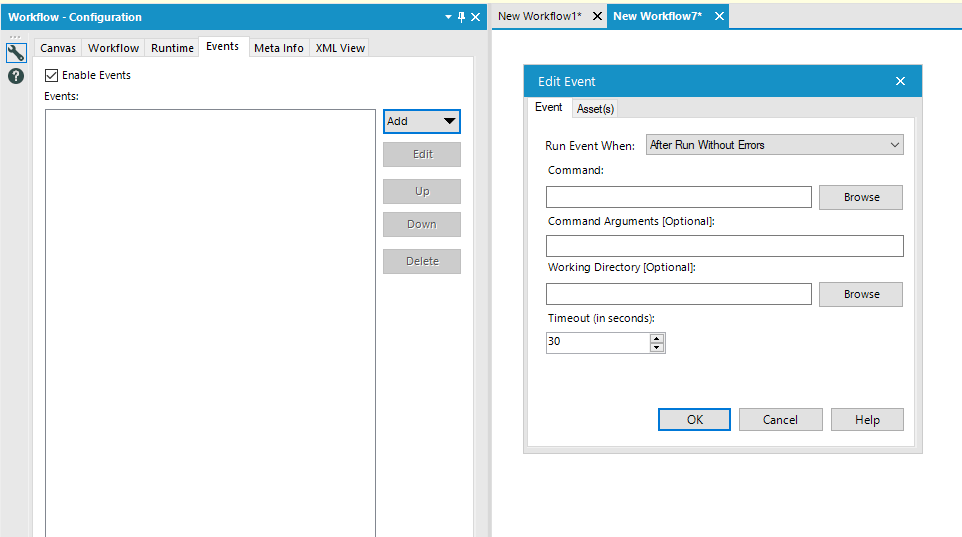 Solved: How to capture run status of workflow - Alteryx