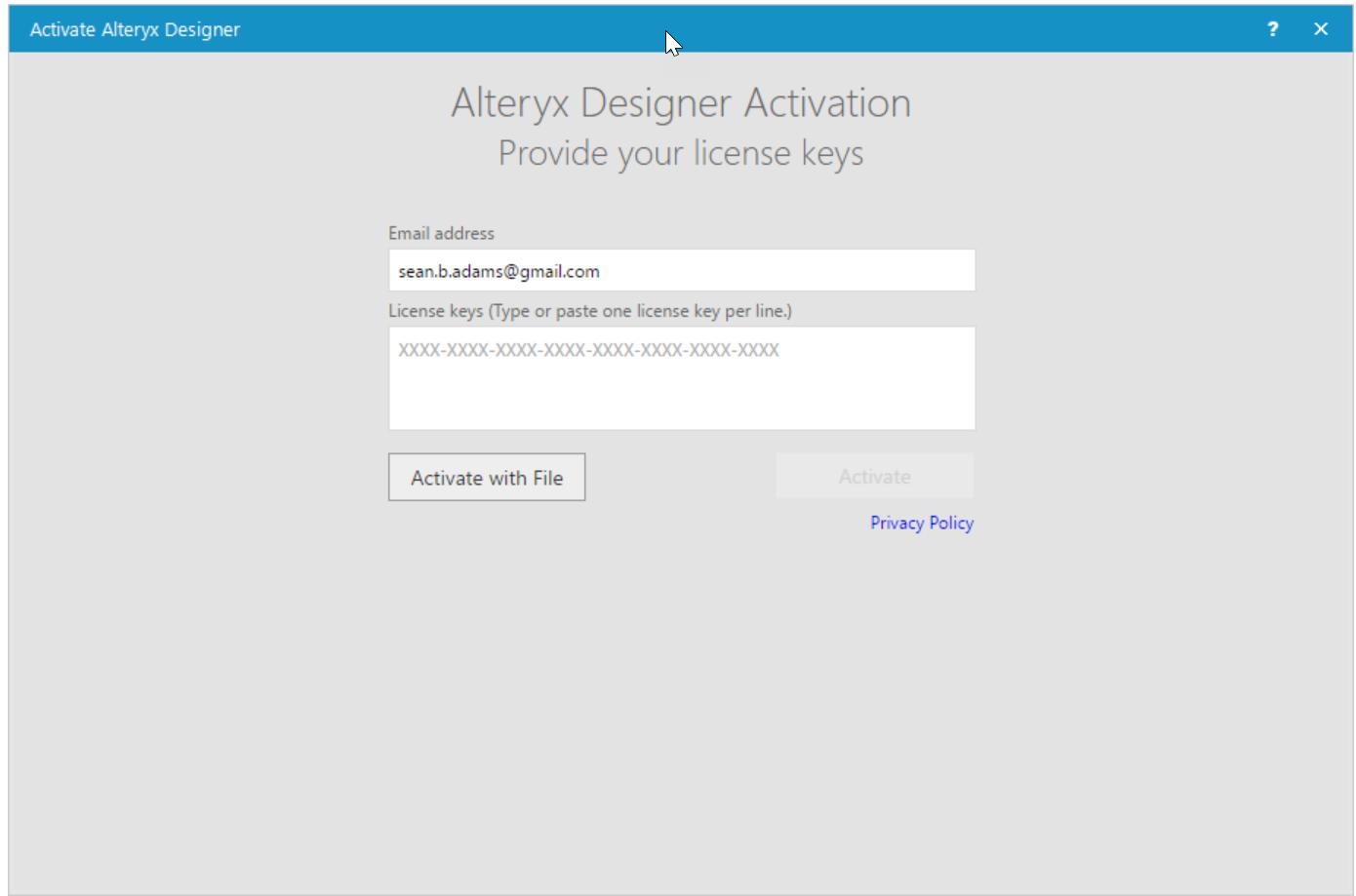 Licensing FAQ | Alteryx 11 8 and Beyond - Alteryx Community
