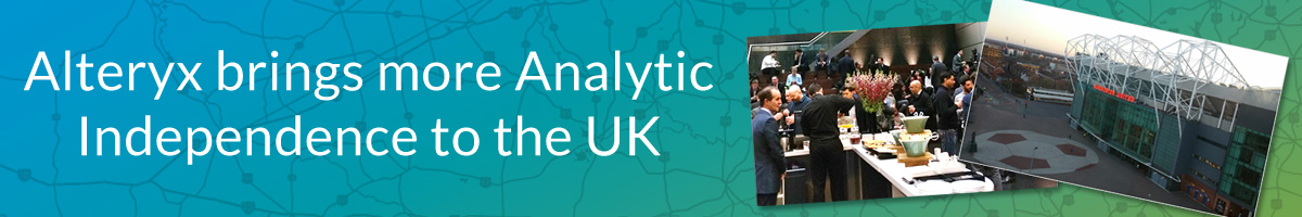 Alteryx brings more Analytic Independence to the UK