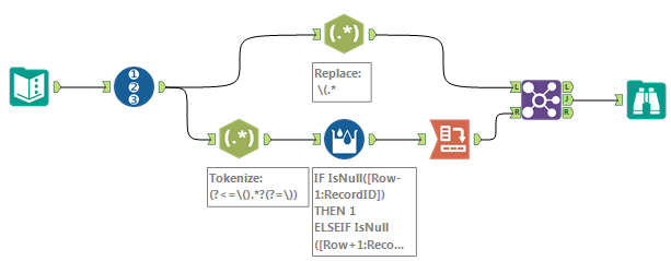 Solved: Remove data from several parenthesis in string - Alteryx