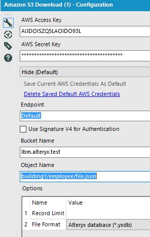 Amazon S3 Download – Use Wildcards to Select a Single or Multiple