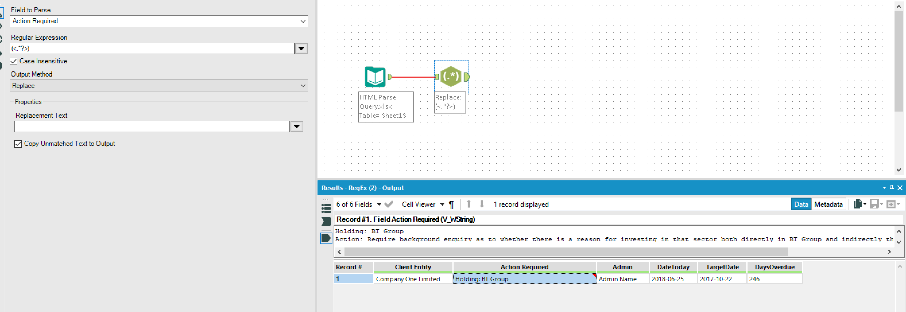 Solved: HTML Parse Query - Alteryx Community