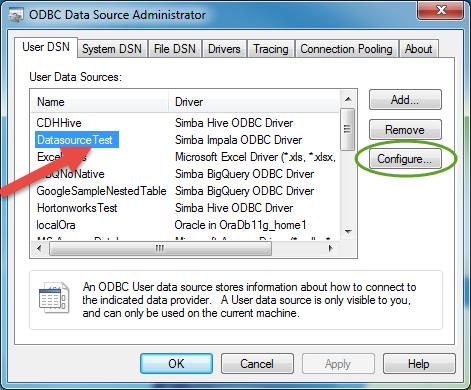 Configuring Impala connection to use Windows Kerberos - Alteryx