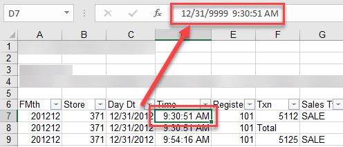 Prevent All Date Conversion on Data Import from Ex