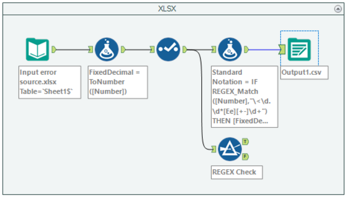 Solved: Scientific Notation Issues: XLSX source data diffe