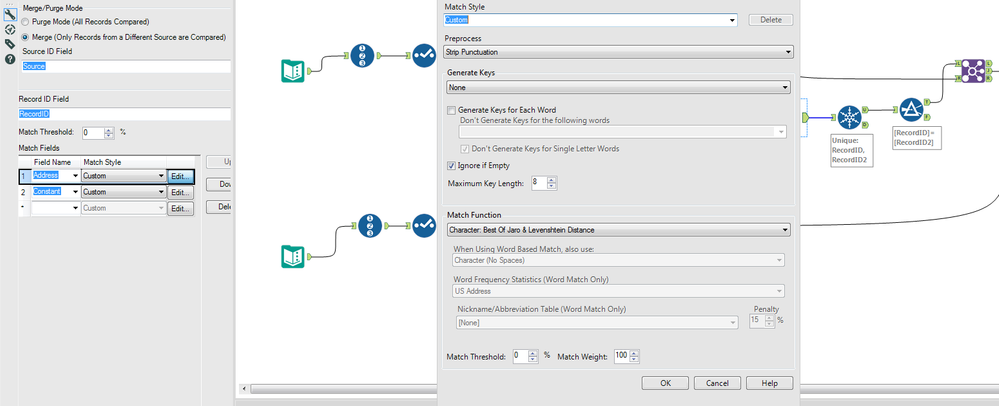 Fuzzy Match Check - Row by Row - Alteryx Community
