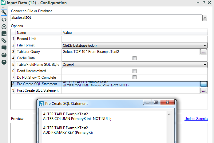 Pre-Create SQL - SQL Server.png  sc 1 st  Alteryx Community & Create Database Table Primary Key in Alteryx - Alteryx Community ...