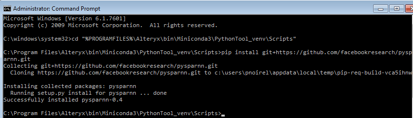 install xlrd python windows pip