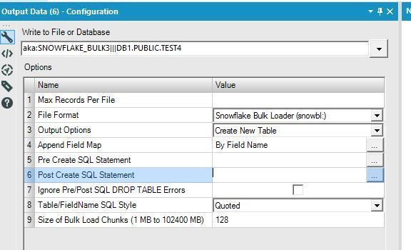 Solved: Problems loading data using Snowflake Bulk Loading