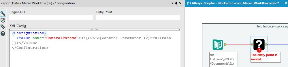 Alteryx 'Entry Point' Error - Snapshot.PNG