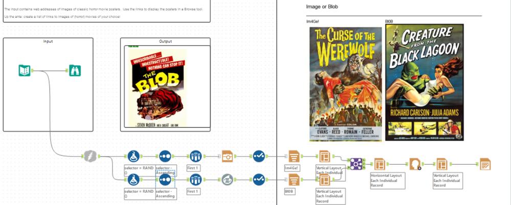 Parallel blob vs image plus various reporting