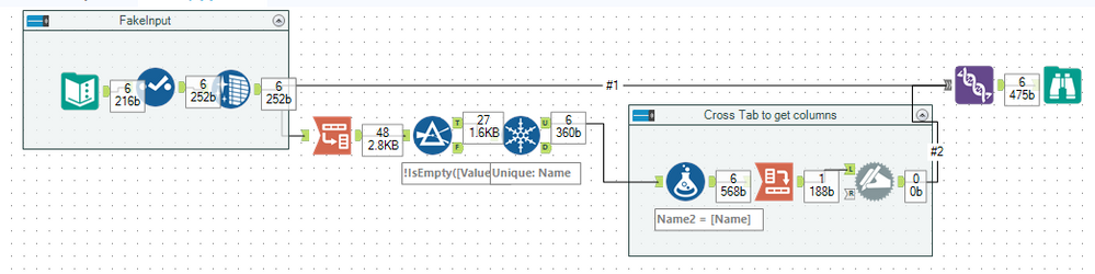 Solved: Remove Empty Columns without Select Tool - Alteryx