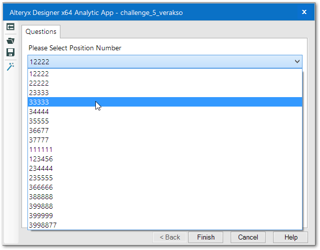 The Analytical App Interface