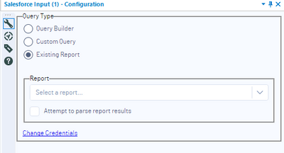 New Salesforce Input Connector